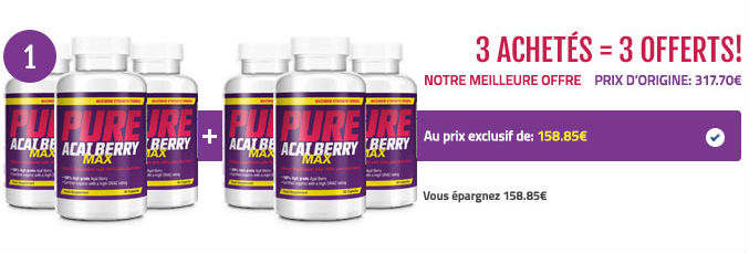 pure acai berry max test et avis. Black Bedroom Furniture Sets. Home Design Ideas