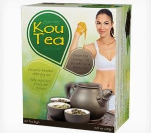 Kou Tea, un mélange de 4 thés