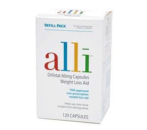 Alli, la pilule à base d'orlistat