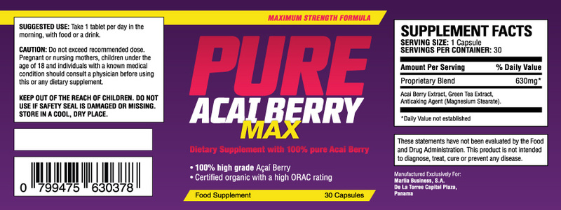 ingredients-de-pure-acai-berry-max