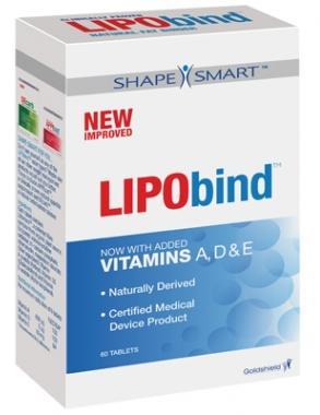 Lipobind, jusqu'à 27% de graisses bloquées par jour!