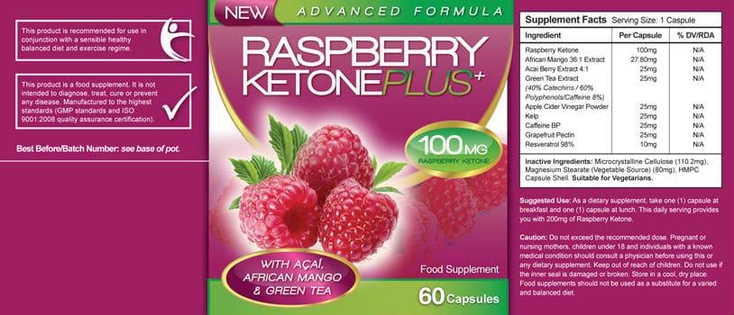 raspberry-keton-plus-étiquette