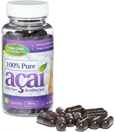 Pure Acai Berry 700mg