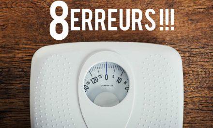 8 erreurs de régime pour maigrir à éviter!