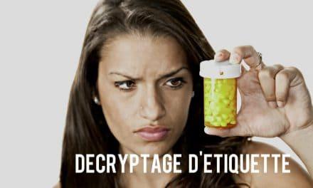 Décrypter une étiquette de pilule pour maigrir