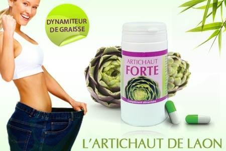 Artichaut Forte, le dynamiteur de graisse