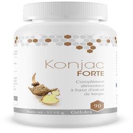 Konjac Forte, une formule concentrée de Glucomannan