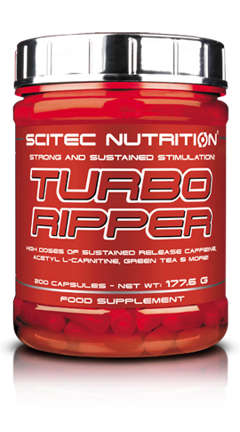 Turbo Ripper de Scitec Nutrition : le test