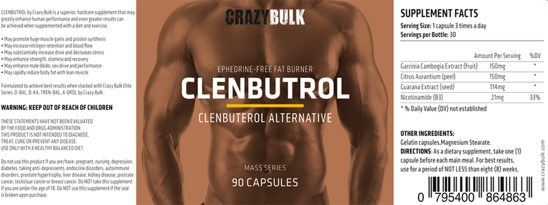ingredients-de-crazybulk-clenbutrol