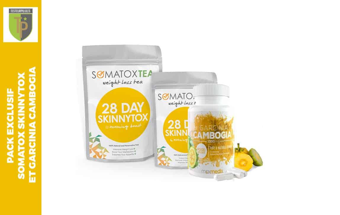 Pack exclusif Somatox SkinnyTox et Garcinia Cambogia