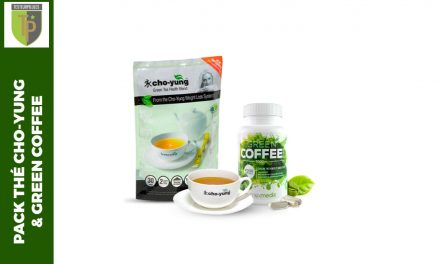 Pack Cho Yung et Green Coffee, l'aide minceur au naturel