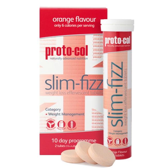 Proto-Col Slim Fizz, des pastilles effervescentes coupe-faim