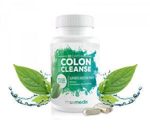 MaxMedix Intensive Colon Cleanse : nettoyez votre colon en 10 jours!