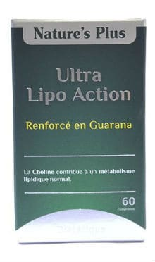 Natures Plus Ultra Lipo Action Boite 60 comprimes
