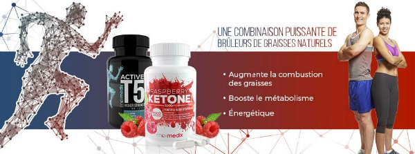 Pack Active T5 Plus et Raspberry Ketone Banniere