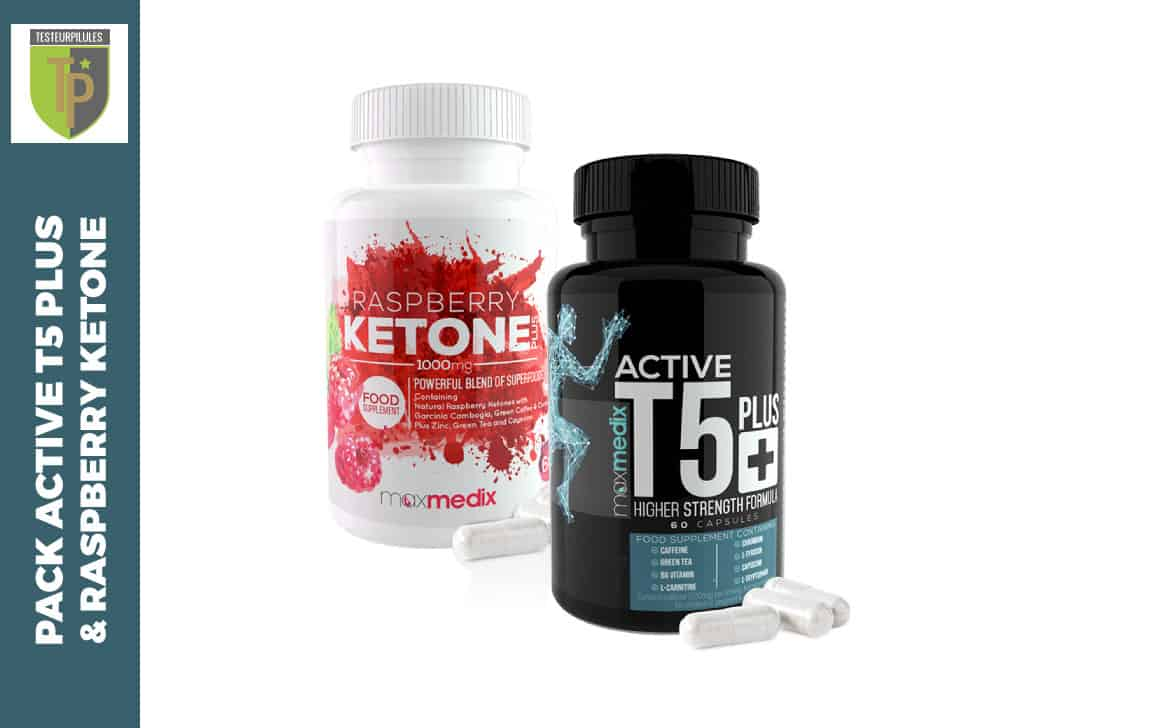 Avis Pack Active T5 Plus et Raspberry Ketone