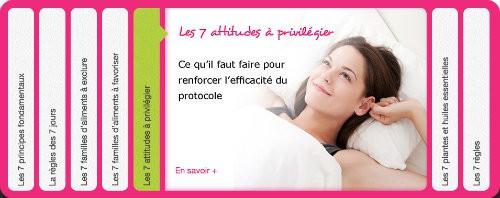 Protocole Minceur 7J