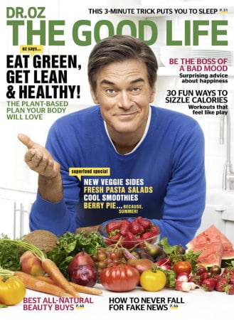 Dr Oz The Good Life Juin 2017