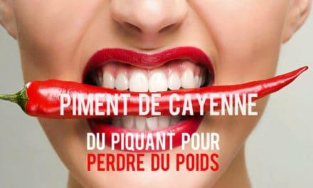 Piment de Cayenne, du piquant pour perdre du poids!