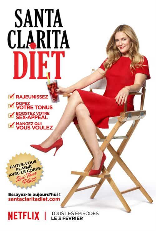 Santa Clarita Diet Affiche FR Netflix