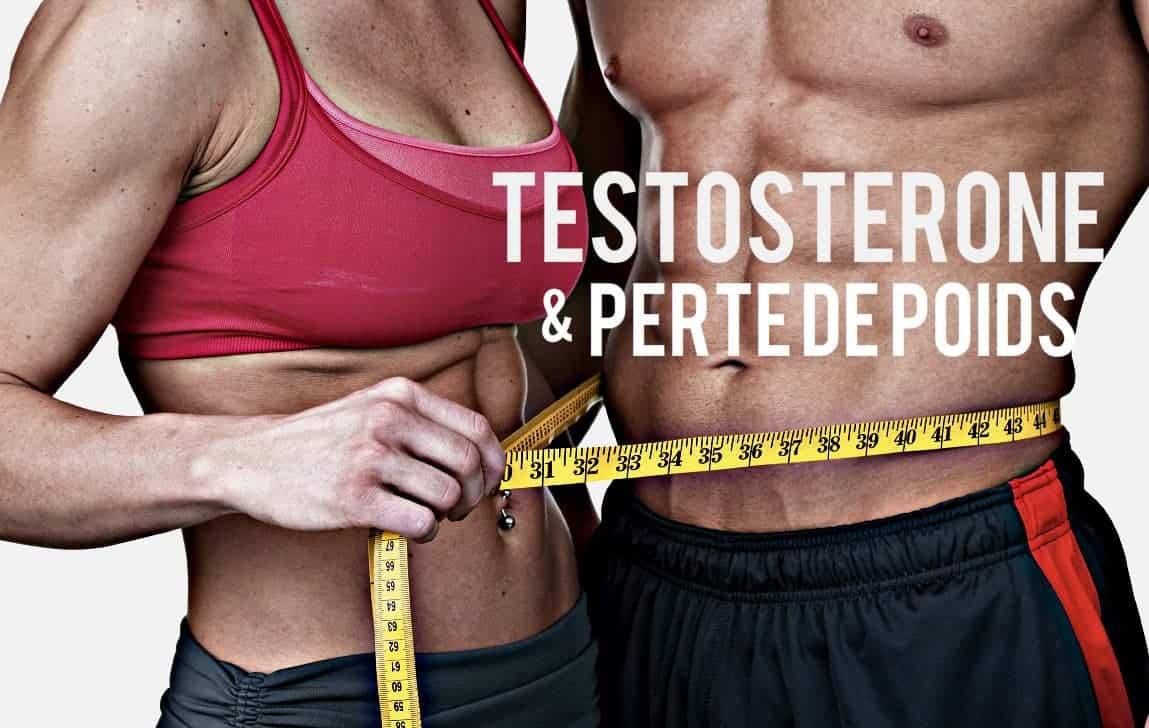 Testosterone et perte de poids blog