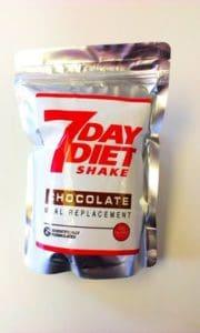 7 Day Diet Shake Sachet