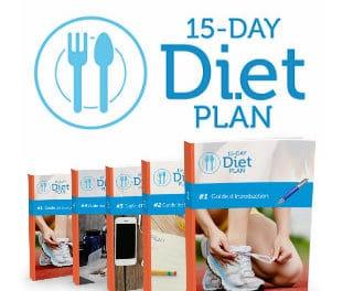15 Day Diet Plan, pour perdre 7 kilos en 15 jours chrono!