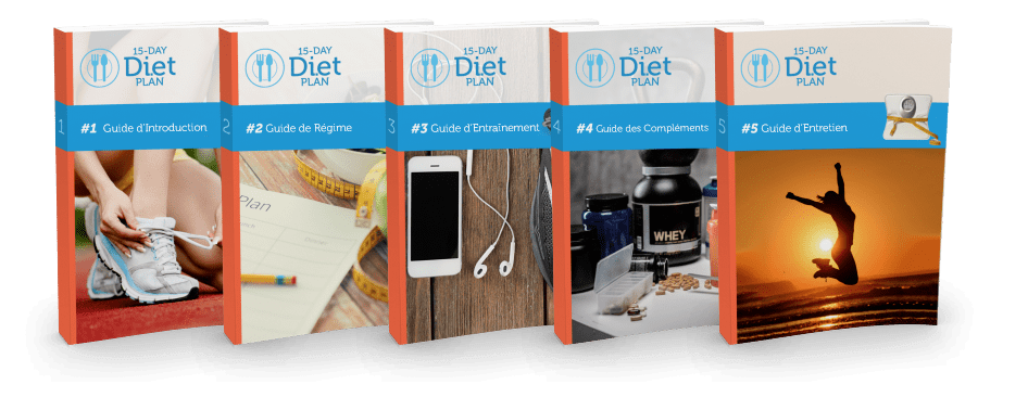 Di-et 15 Day Diet Plan Guide 5 Volumes French