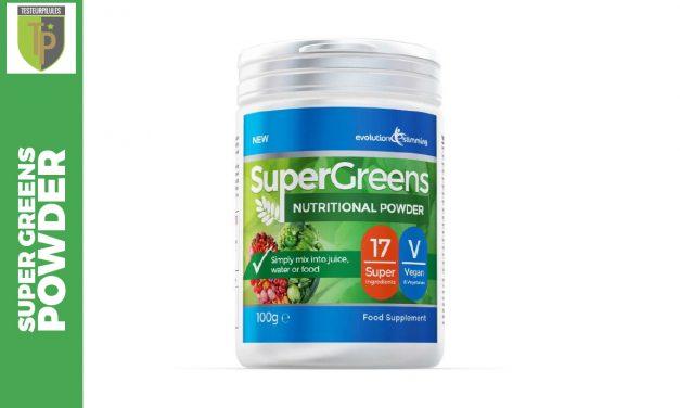 Super Greens Powder, un concentré de 17 légumes et fruits