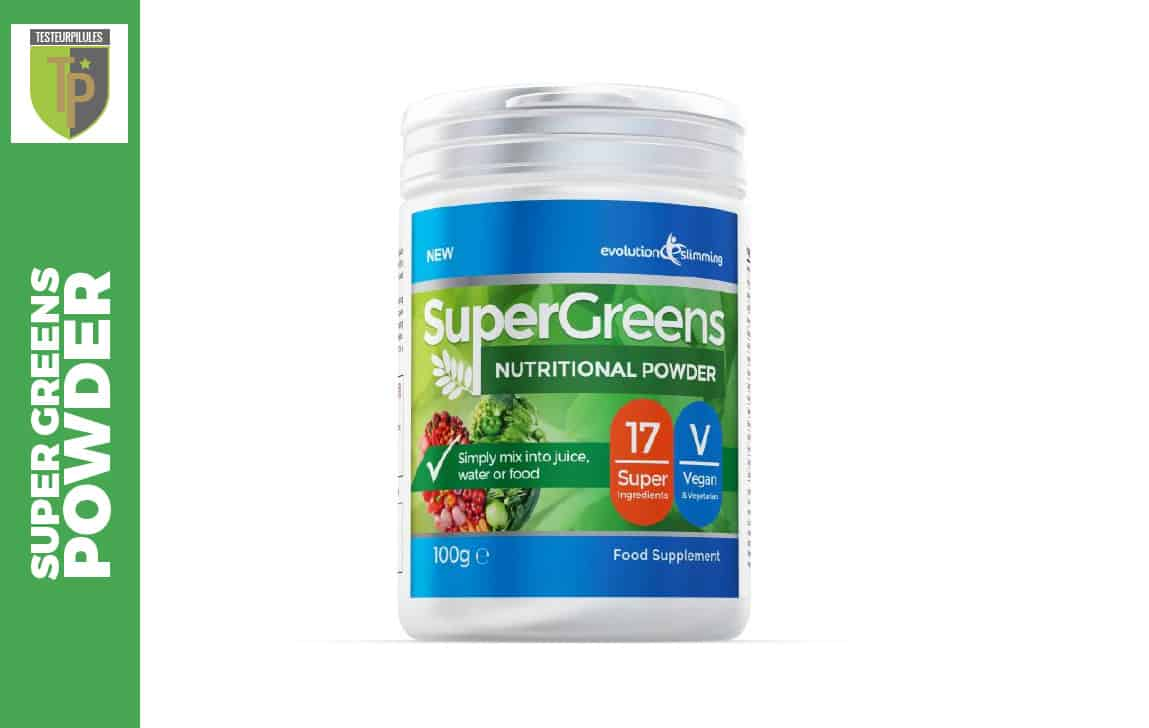 Super Greens Powder Avis Test