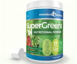 Super Greens Powder, un concentré de 17 légumes et fruits