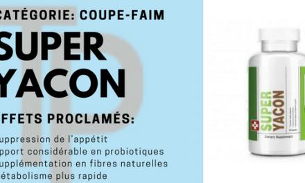 Super Yacon, pour maigrir grâce à une meilleure flore intestinale
