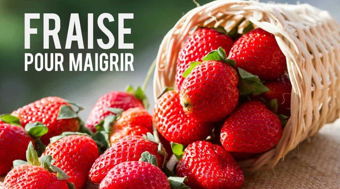 La fraise, petit fruit méconnu dans le domaine de la minceur!