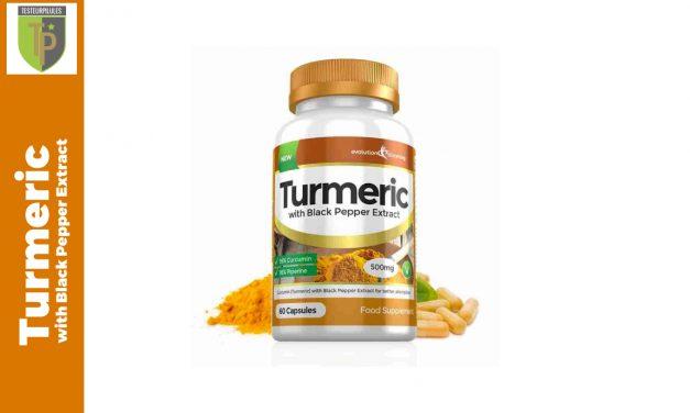 Turmeric with Black Pepper Extract: test sur une autre façon brûle-graisse