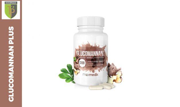Glucomannan Plus 3000mg,  un coupe-faim aux fibres de konjac