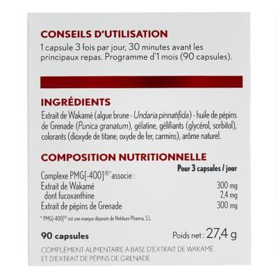 Oenobiol Boost Minceur Ingredients