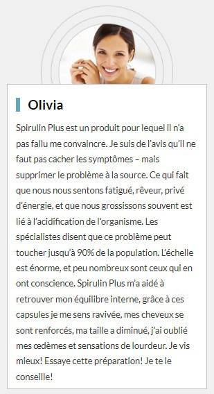 Spirulin Plus temoignage2