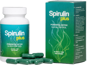 Spirulin-Plus-flacon-gélules