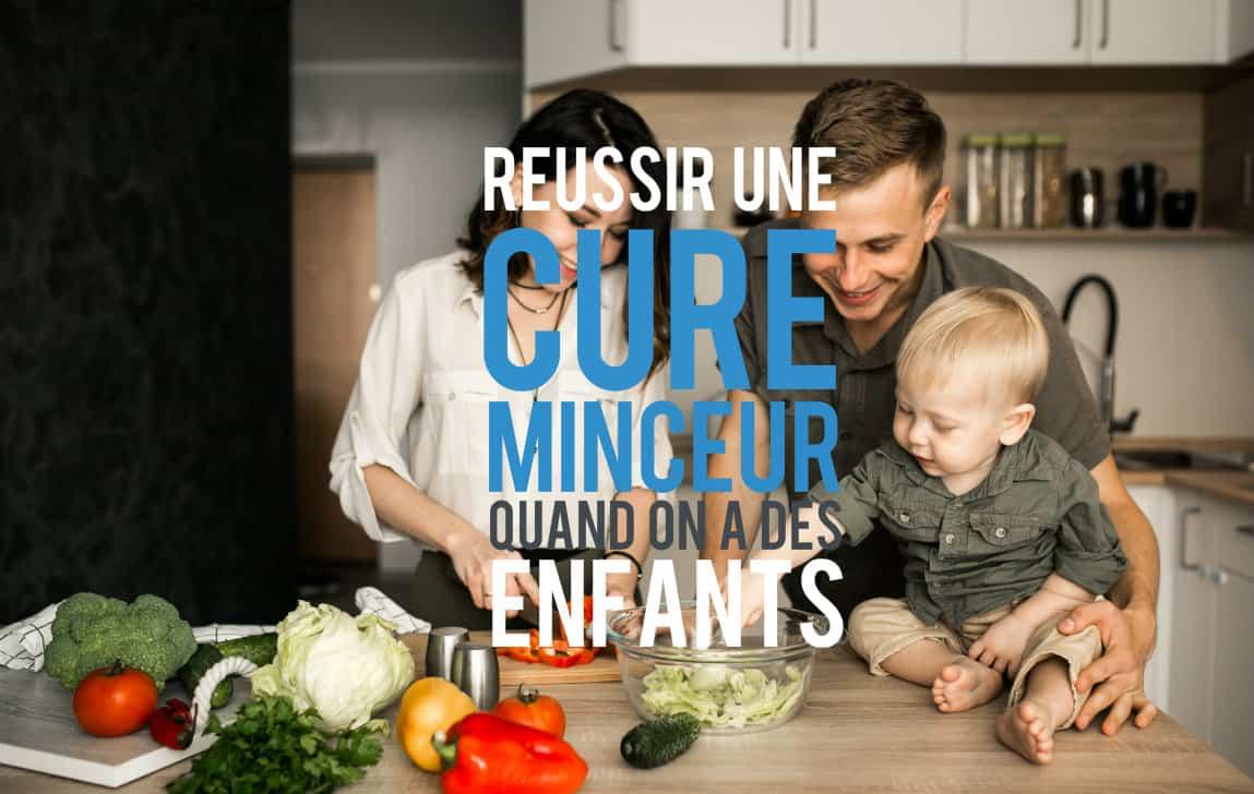 Réussir une cure minceur quand on a des enfants, comment y arriver?