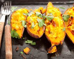 Patates douces farcies recette
