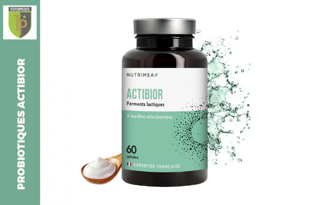 Probiotiques Actibior, une formule bien dosée pour un corps sain et mince