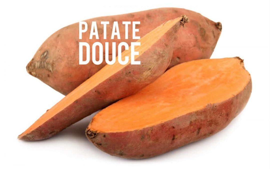 Patate douce, une bonne source de fibres à faible indice glycémique